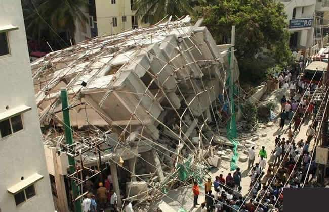 Indian Building Collapse