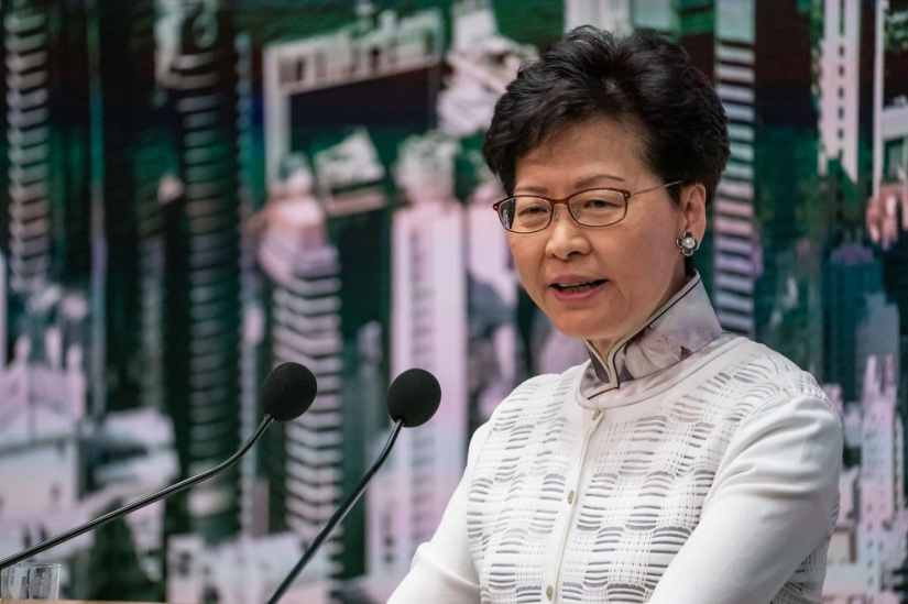 Hong Kong Leader, Carrie Lam